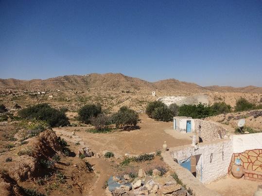 Région Matmata tunisie
